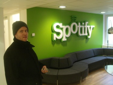 Presidente del Club de Fanboys de Spotify