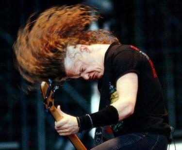 Jason Newsted - Headbanging