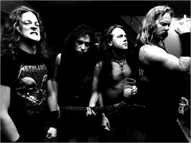 Metallica con Jason Newsted