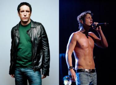 Trent Reznor y Chris Cornell