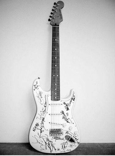 La guitarra más cara del mundo