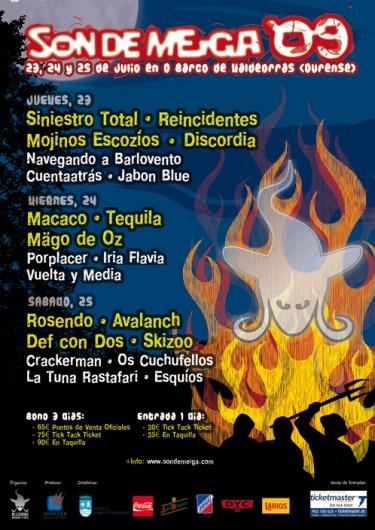 Cartel Son de Meiga '09