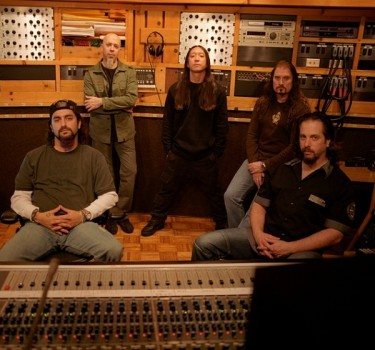 Dream Theater en estudio
