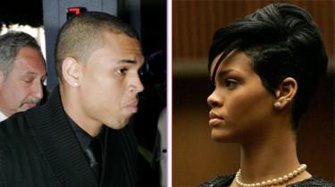 Chris y Rihanna