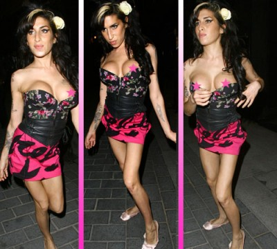 amy winehouse topless