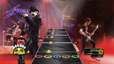 King Diamond en el Guitar Hero: Metallica