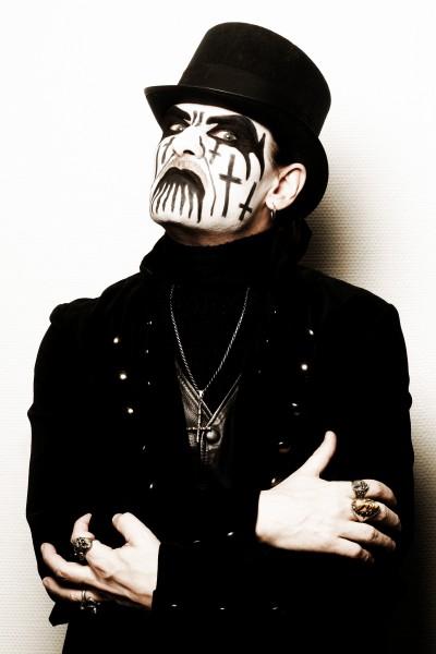 King Diamond con su característico maquillaje
