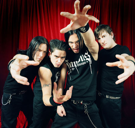 Valentine Photos on Bullet For My Valentine Sacar  N Nuevo Disco En 2010   Tanaka Music
