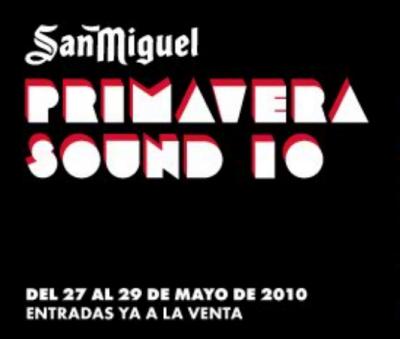 San Miguel Primavera Sound 2010
