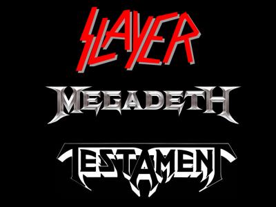 Slayer, Megadeth y Testament