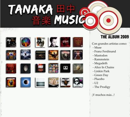 Tanaka Music - The Album 2009