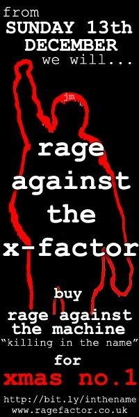 Rage Against The Machine vs X Factor