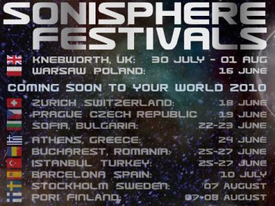 Sonisphere Festivals