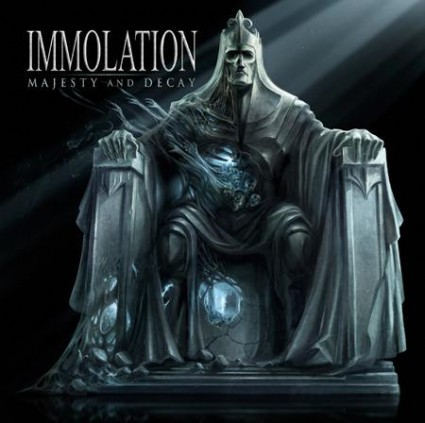 Portada del Majesty And Decay de Immolation