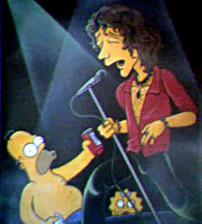 Bunbury en los Simpsons