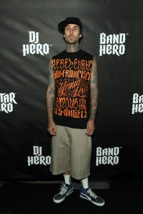 Travis Barker y el DJ Hero