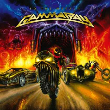Gamma Ray - To The Metal (Red Vinyl)