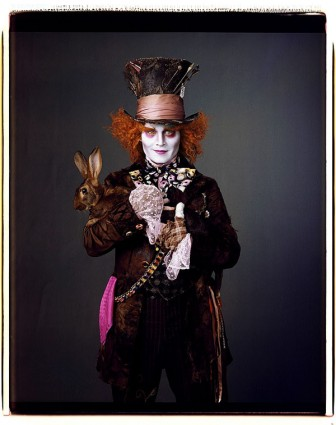 Jonnhy Depp en Alice In Wonderland