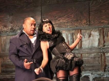 Timbaland y Katy Perry meneándose
