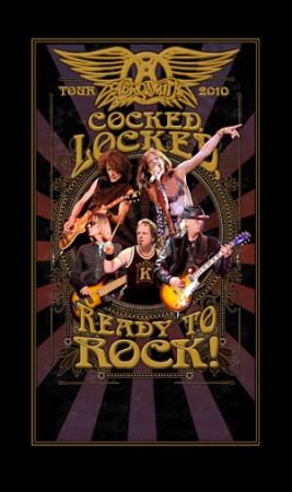 Aerosmith - Tour 2010 - Cocked Locked - Ready To Rock!