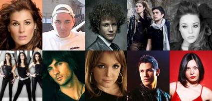 Finalistas de Eurovisión