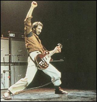 Pete Townshend desvela el origen de su salvaje forma de tocar
