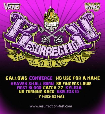 Resurrection Fest 2010 (provisional)