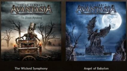 Portadas de los nuevos álbums de Avantasia