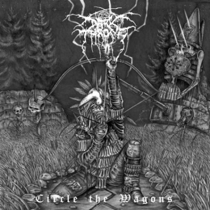 Portada de Circle The Wagons de Darkthrone
