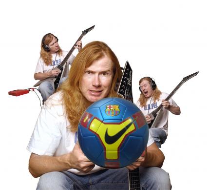 Dave Mustaine en Barcelona