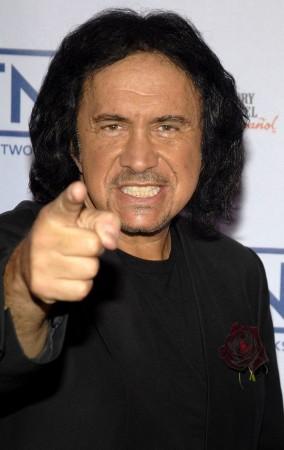 Gene Simmons sin maquillaje