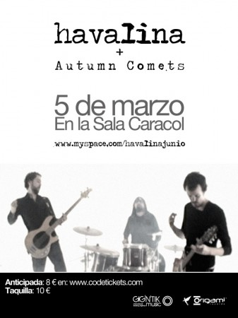 Havalina y Autumn Comets - Madrid (2010)