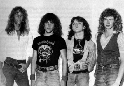 Metallica con Ron McGovney