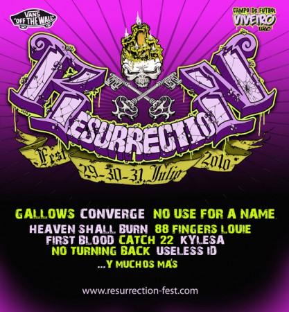 Resurrection Fest 2010 provisional