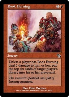 Book Burning, Magic: The Gathering