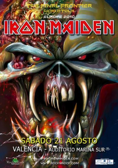 Iron Maiden en Valencia