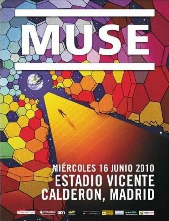 Muse en el Estadio Vicente Calderón