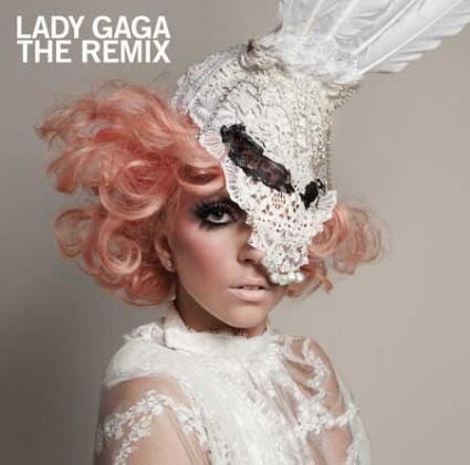 Portada Lady Gaga The Remix