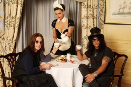 Slash y Ozzy Osbourne