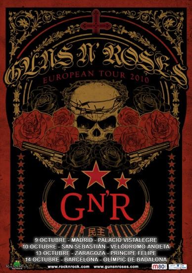 Guns N' Roses en España