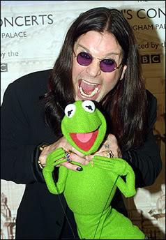 Ozzy Osbourne y la rana Gustavo