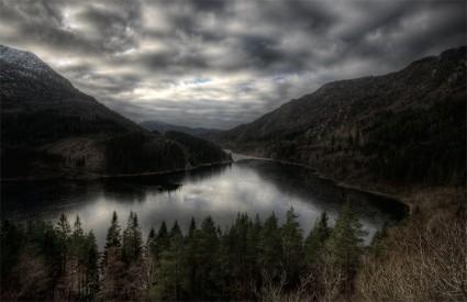 Fotografía HDR de Svartediket
