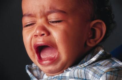 El bebé fan de Muse llorando