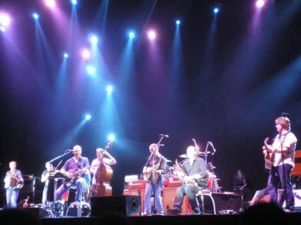 Mark Knopfler y su banda