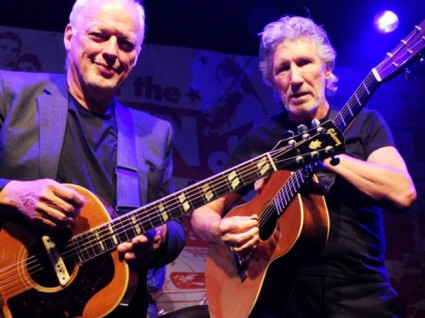 Roger Waters y David Gilmour
