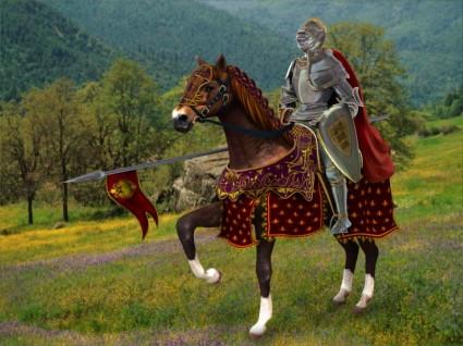 Caballero y su caballo