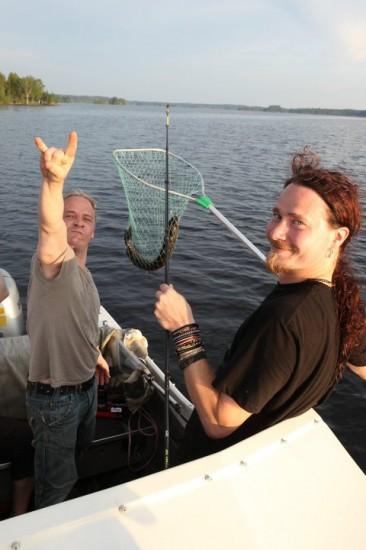 Nightwish de pesca
