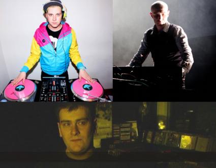 Caradeniño DJ, Vitalic y DJ Poti