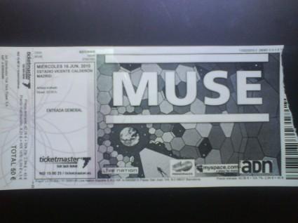 Entrada Muse