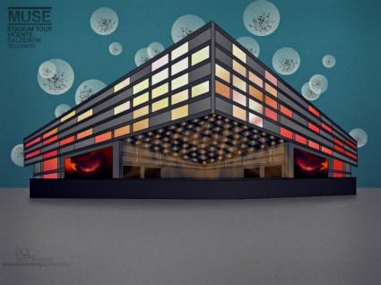 Diseño Estadio Calderón para Muse